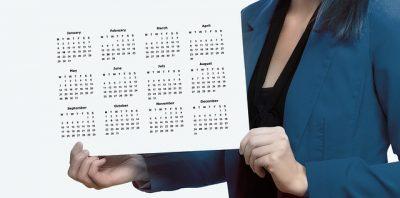 Créez votre propre calendrier  avec une photo numérique